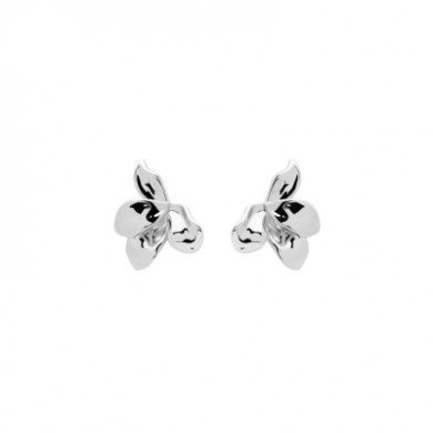 Pendientes Narcise plata mujer